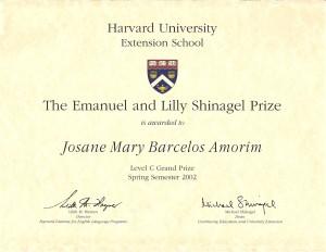 Harvard Essay Prize Spring 2002
