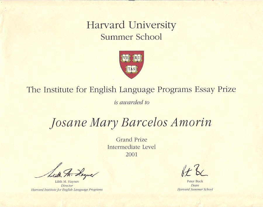 harvard business school essay