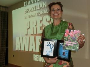 Press Award London Literature-FOCUS BRASIL. Londres, 2012