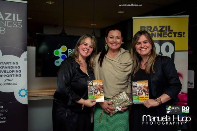Cristiane Bueno, Josane Mary e Pollyane dos Reis. 11/11/2014
