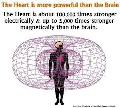 The heart is 5000 times stronger magnetically than the brain ...